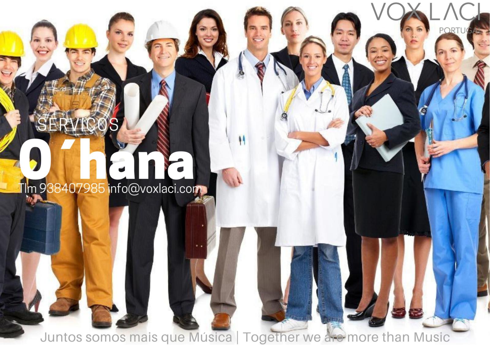 """Serviços """"O'Hana"""""""
